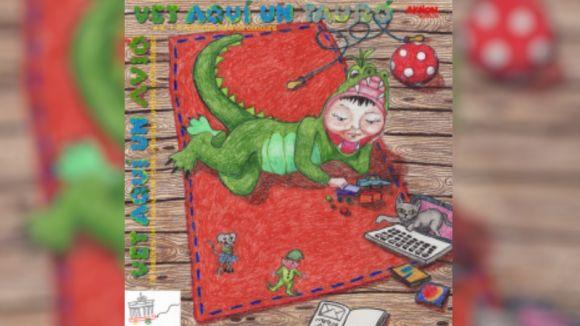 Una santcugatenca impulsa un CD d'audiocontes infantils en català a Alemanya
