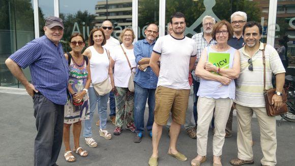 Ramon Gutiérrez pren el relleu a Roser Casamitjana com a portaveu del grup municipal d'ICV-EUiA