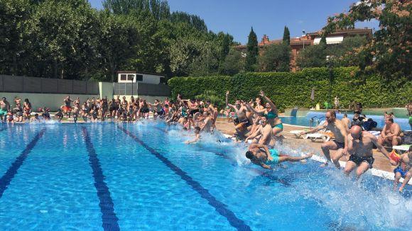 Les piscines del Parc Central se sumaran al 'Mulla't per l'esclerosi múltiple'