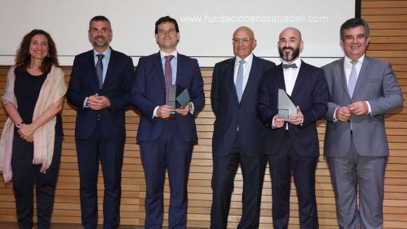 Banc Sabadell premia Romain Quidant i Borja Ibáñez per la seva contribució a l'enginyeria i la biomedicina