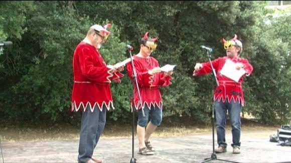 El pregó reivindicatiu dels Pastorets de la Floresta arrenca la Festa Major