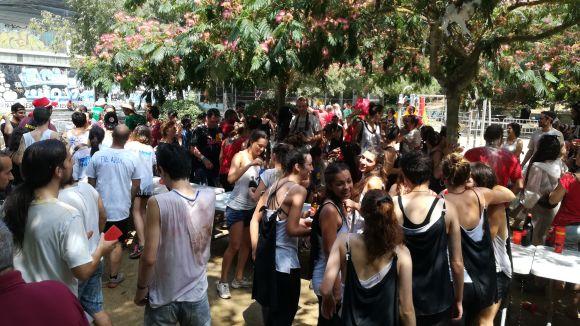 La colla Mutantes planer@s guanya les Olimpíades Bandarres de la Festa Major de la Floresta