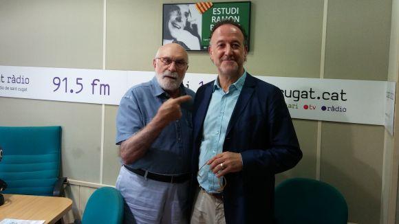 Xavier Baulies visita el 'Molta Comèdia' per parlar de l'11è Simposi Mundial de Música Coral