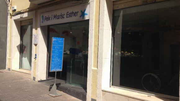 La peixateria Esther del carrer Major tancarà definitivament dissabte de la setmana que ve
