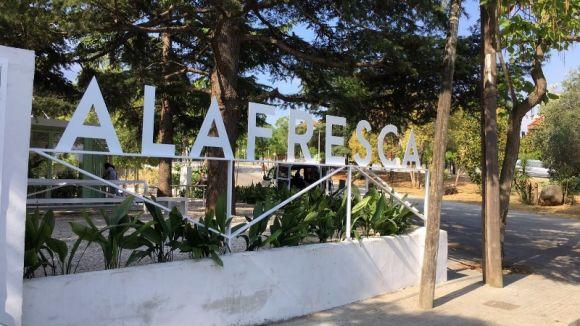 El restaurant obre al passeig Olabarria
