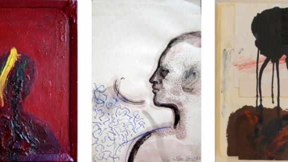 Detall d'obres de Grau-Garriga / Foto: Canals Galeria d'Art