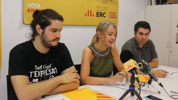 ERC-MES Sant Cugat reprèn l'activitat institucional 'atent als propers passos de l'Estat'