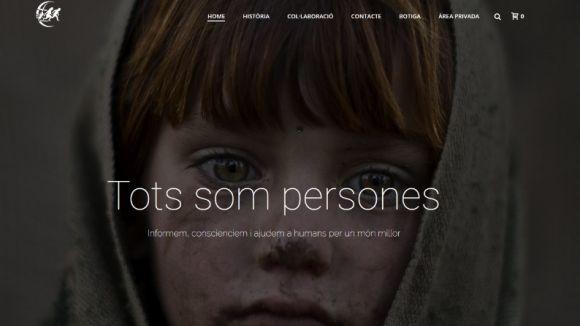Quatre estudiants santcugatencs, premiats per crear una web per conscienciar i ajudar els refugiats