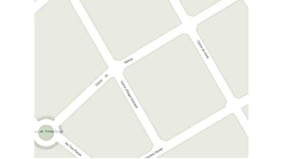 Tallat al trànsit el carrer de Mariné entre Àngel Guimerà i Verdi