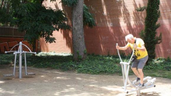 Sant Cugat estrena dos circuits de salut a proposta dels veïns