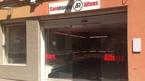 Tanca la carnisseria Alfons després de 35 anys al carrer Major i més de 90 a Sant Cugat
