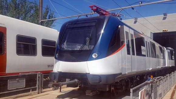 Un comboi del Metro de Panamà farà aquest agost proves de circulació a la línia del Vallès de FGC