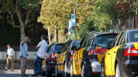 El sector del taxi santcugatenc, en vaga dimecres i dijous