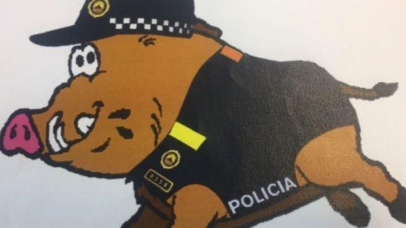 La Policia Local inicia una campanya per posar nom a la nova mascota d'educació viària