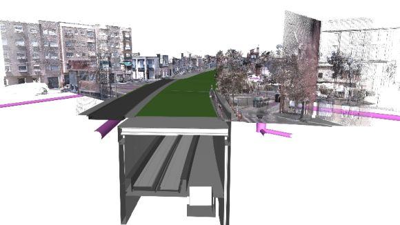 La Generalitat licita les obres d'integració urbana de la línia de FGC a Gràcia i Can Feu de Sabadell