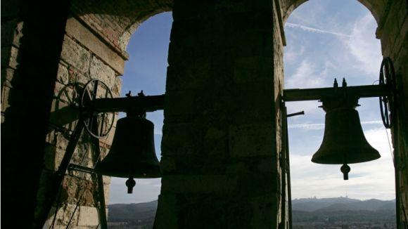 Rogeli Pedró demana que les campanes del Monestir repiquin cada dia en suport 'als presos polítics i al govern exiliat'