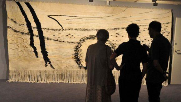 La Casa Aymat acull avui una visita guiada a l'exposició del tapís