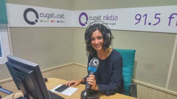 La nutricionista Carme Ferrer als estudis de Cugat.cat