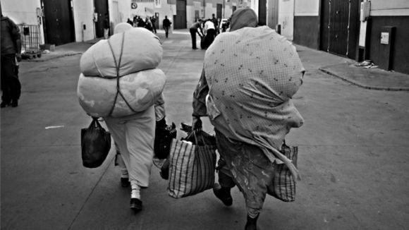 'Esclaus del contraban', l'exposició fotogràfica de Jordi Camí, a partir d'avui al Centre d'Art Maristany