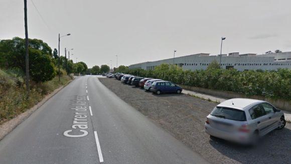 Tram del carrer Vallseca on es farà l'actuació / Foto: Google Maps