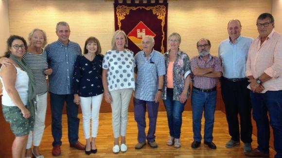 Els membres de la organització en l'acte de presentació