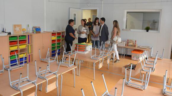 L'Ajuntament inverteix 1,2 milions en una cinquantena d'obres als centres educatius