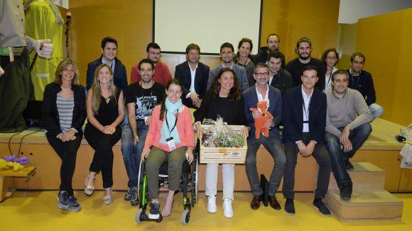 Josep Maria Vallès posa en valor el barri de Volpelleres amb un pregó en clau periodística
