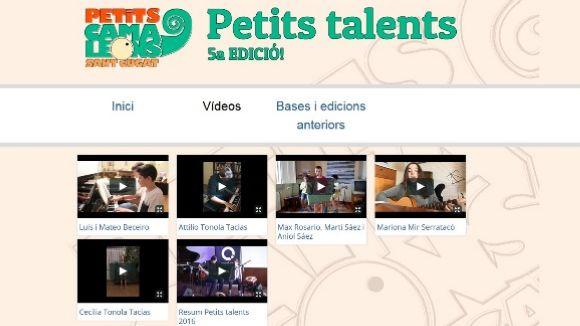 Reviu en imatges les cinc actuacions de la 5a edició del concurs Petits Talents