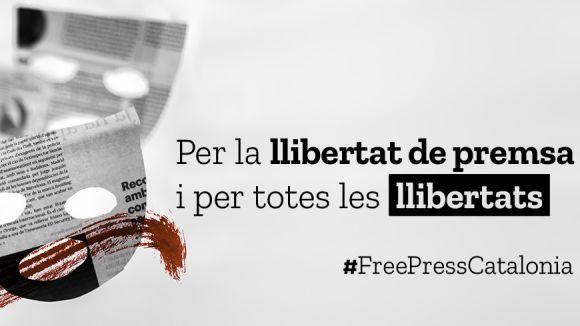 Cugat.cat s'adhereix al manifest #FreePressCatalonia del Grup de Periodistes Ramon Barnils