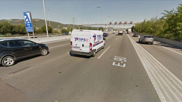 La B23 al seu par pel Papiol / Foto: Google Maps