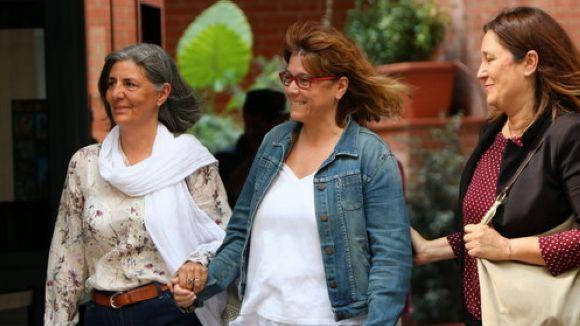 La santcugatenca Natàlia Garriga, en llibertat amb càrrecs després de declarar en l'operació contra l'1-O