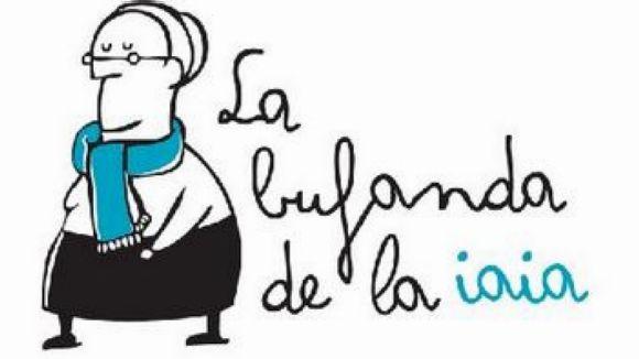 Logo de la iniciativa de 'La bufanda de la iaia'. / Foto: Amics de la Gent Gran