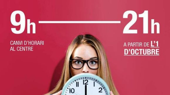 El Centre Comercial Sant Cugat canviarà l'horari a partir d'octubre