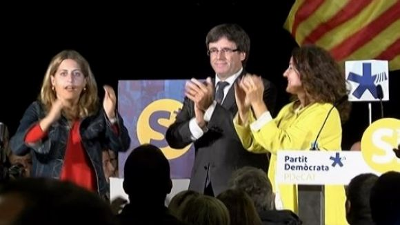 Puigdemont lamenta a Sant Cugat 'pràctiques pròpies de règims totalitaris' per part de l'Estat espanyol
