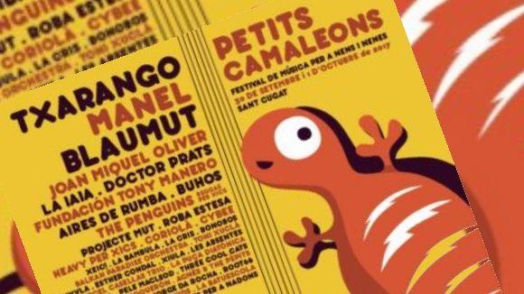El Petits Camaleons torna aquest cap de setmana a Sant Cugat amb grups com Txarango i Manel