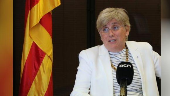 Ponsatí demana declarar des de Bèlgica, igual que Puigdemont
