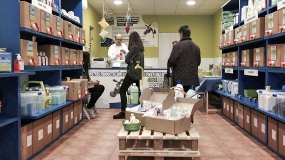 Goccia Verde obre avui una botiga de productes ecològics al carrer de Martorell