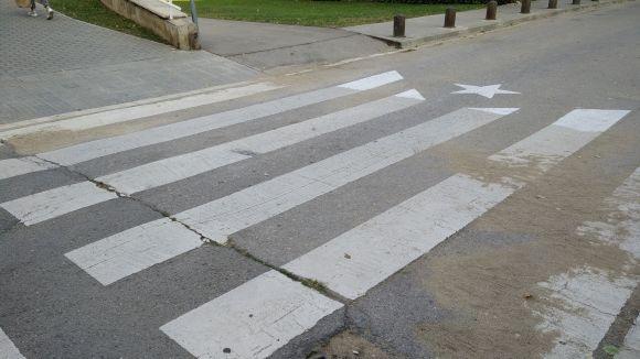 Cs reclama a l'Ajuntament que restableixi els passos de vianants que s'han transformat en estelada