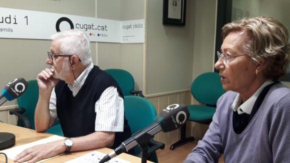 D'esquerra a dreta, Josep Arqué i Marisol Podio.