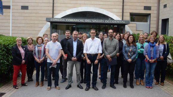 Condemna dels alcaldes del Vallès Occidental a les 'desproporcionades' càrregues policials de l'1-O