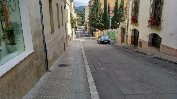 Comencen les obres de vianantització dels carrers de Balmes i Sant Medir