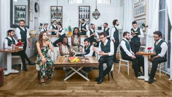 La banda The Gramophone Allstars / Foto: extreta de la pàgina de Facebook del grup