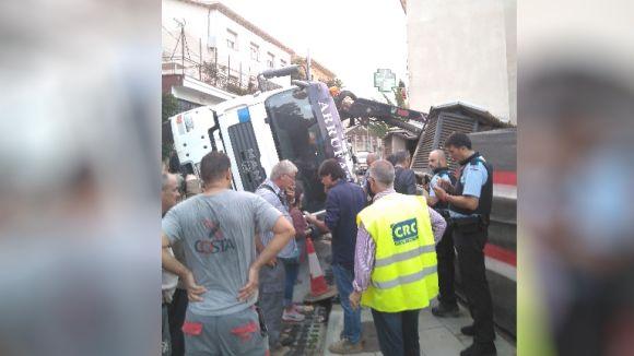 Fins al lloc dels fets també s'ha desplaçat Policia Local