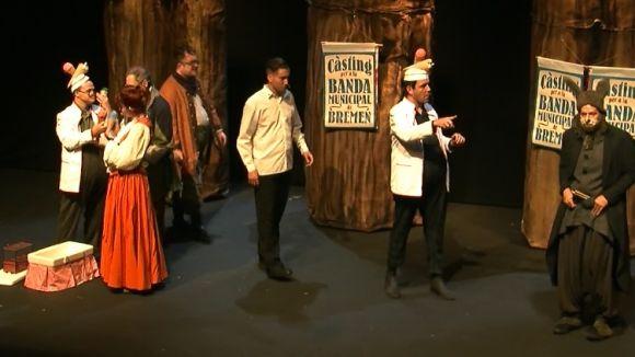 L'adaptació musical d'Els músics de Bremen' fa gaudir els més petits al Teatre-Auditori