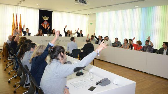 Moment de la votació / Foto: Localpres