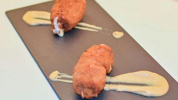 Els cachopins, un plat d'origen asturià, reinterpretat a l'Author Boris.