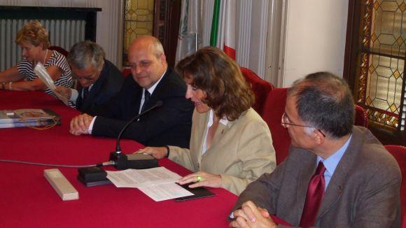 10 anys de la signatura a Itàlia de l'agermanament entre Sant Cugat i Alba