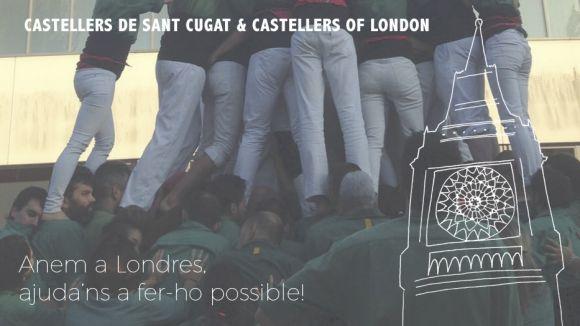 Els Castellers de Londres reben els Gausacs en un cap de setmana d'actuacions i germanor