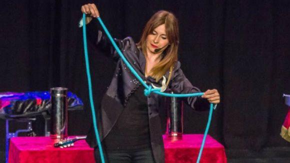 Joana Andreu durant una actuació / Foto: Santcugat.cat