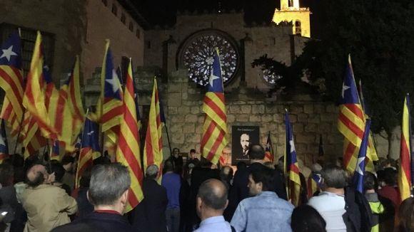 Crida per anar 'tots units' contra el 'feixisme de l'Estat' en l'homenatge a Lluís Companys